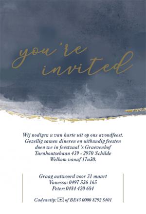 Gelegenheidsdrukwerk trouwfeest Bode van Schoten